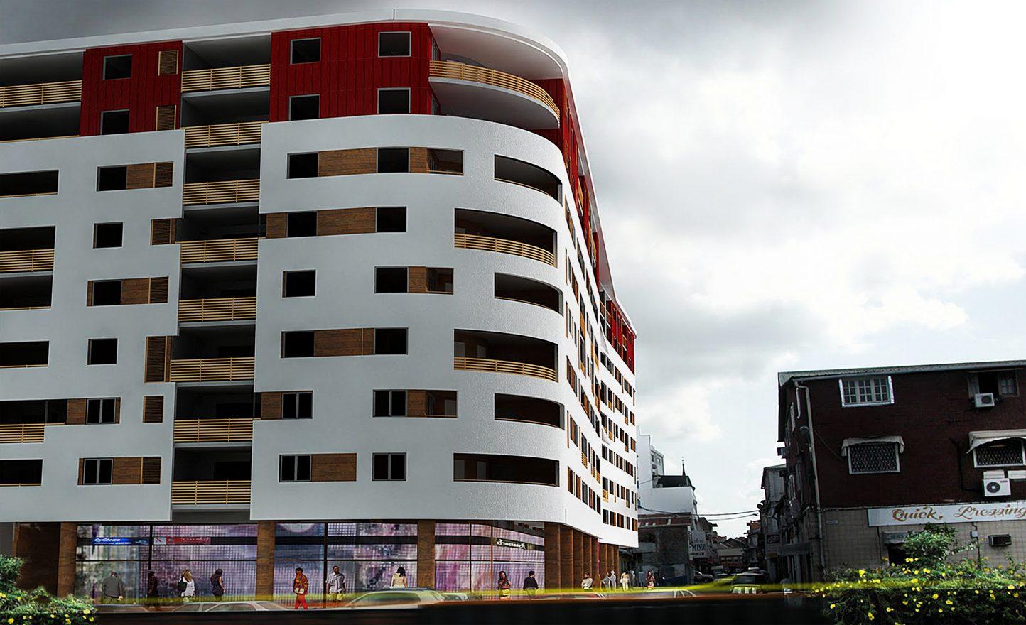 Construction de maison villa moderne et design en guadeloupe architecte constructeur maison for Construction de maison individuelle en guadeloupe